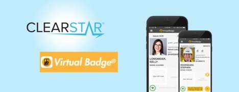 Smartphone Identification Badges