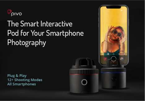Face-Tracking Photography Docks