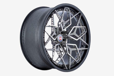 Lightweight 3D-Printed Rims