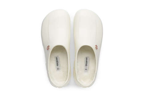 Softly Lined Sleek Clogs