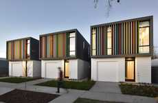 Cheerfully Colorful Housing Units