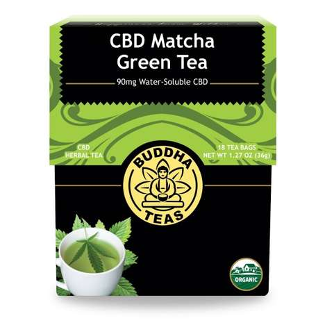 Herbal CBD Teas - Buddha Teas' Line of Cannabidiol-Infused Teas Contains Water-Soluble CBD