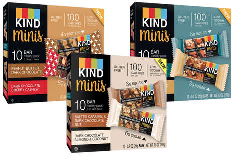 Mini-Size Snack Bars