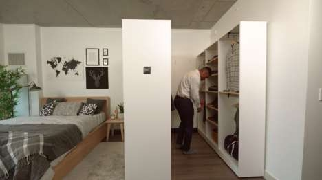 Small-Space Robotic Closets