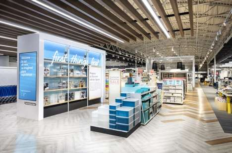 High-Tech Storage Solution Shops - The Container Store is Now Introducing a 'Next Generation Store'
