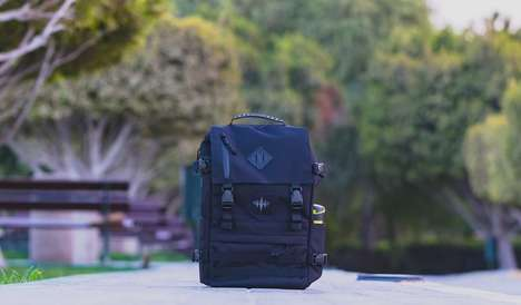 Versatile One-Bag Backpacks - The NASH Backpack is Conformable in the Office and on a Hike