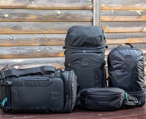 Four-in-One Luggage Backpacks