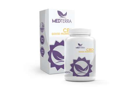 Energizing CBD Capsules - Medterra's Good Morning Capsules Support Clarity and Energy