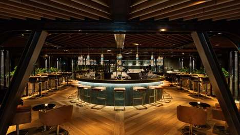 Extravagantly Luxe Amsterdam Hotels - Conran and Partners' Elegant & Chic Hotel Emphasizes Wellness