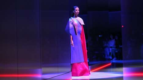Futuristic Car-Inspired Fashion Shows - Hussein Chalayan & Nio Boast an Experimental Collaboration