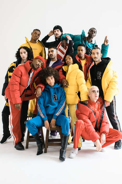 Inclusive Ultra-Chromatic Fashion Editorials - The Daily Paper's Colorful Photoshoot Promotes Unity