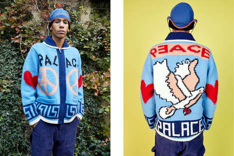 Cozy Holiday Streetwear Collections - Palace Releases Its Holiday 2018 with a Hint of Retro Style