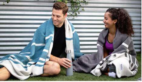 Cozy Wellness-Promoting Blankets