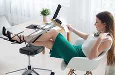 Footrest Laptop Workstations