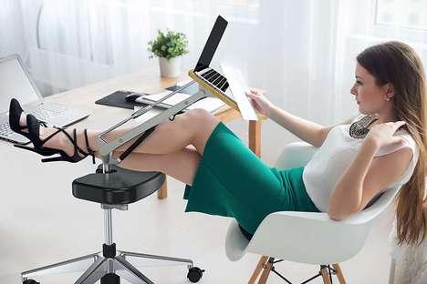 Footrest Laptop Workstations
