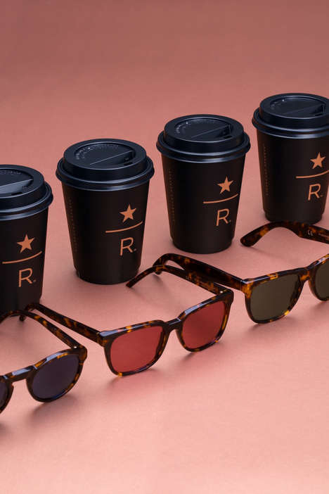 Luxe Co-Branded Sunglasses - RETROSUPERFUTURE Produces a Line of Exclusive Sunglasses for Starbucks