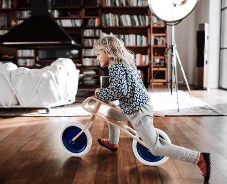 Balance-Learning Pedal-Free Bikes
