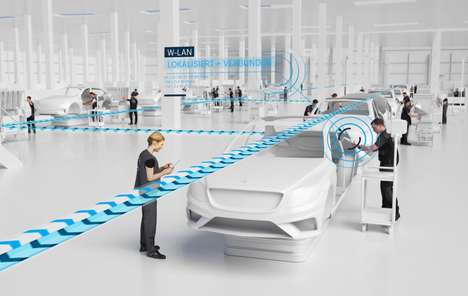5G-Enabled Car Factories