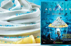 Aquatic Superhero Frozen Treats