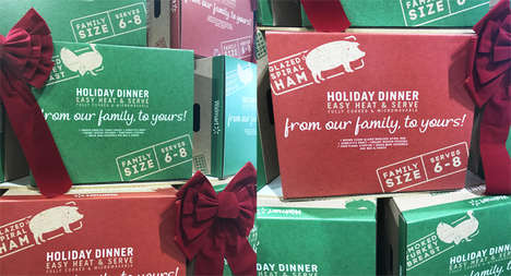 Prepackaged Holiday Meal Kits - The Walmart Holiday Dinner Kits Serve Six to Eight People