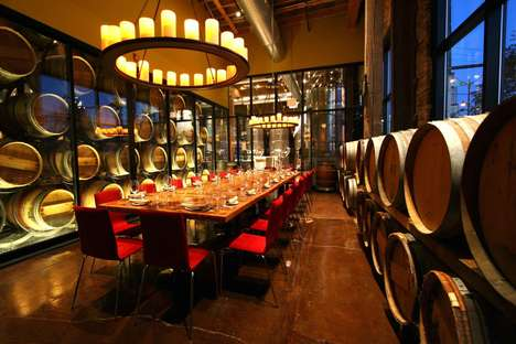 Artistically Themed Food Experiences - City Winery Centers High-End Culinary & Cultural Experiences