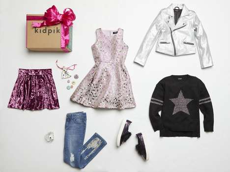 Pre-Styled Kidswear Gifts - kidpik's Fashionable Gift Boxes Share Ready-to-Wear Outfits for Girls