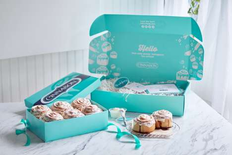 Cinnamon Bun Delivery Services - You Can Now Have Cinnabon Delivered Right to Your Door