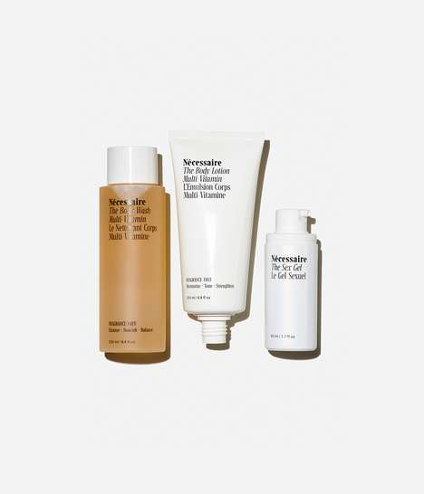 Luxurious Minimalist Skincare - Nécessaire Shares a Simple, Thoughtful Trio of Body Care Products