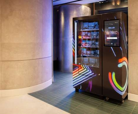 Smart Vending Machines - Mulberry's Interactive Retail Installation Captures Data & Offers Rewards