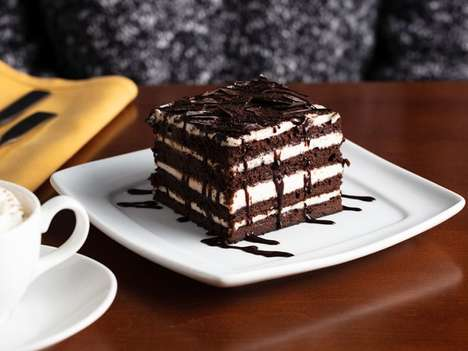 Eight-Layer Brownie Desserts - Olive Garden's 'Chocolate Brownie Lasagna' is Decadent and Pasta-Free