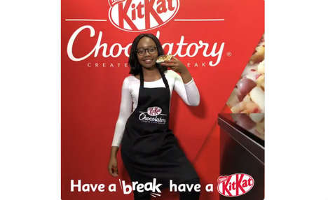 Chocolate Customization Pop-Ups - This Kit Kat Chocolatory Pop-Up is Centered on Custom Confections