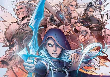 Video Game Lore Comics - The League of Legends Comics Will be Published by Marvel