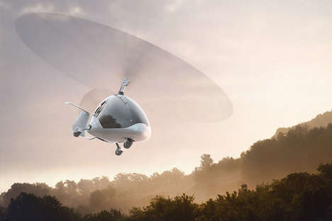 Aerodynamic Two-Person Gyroplanes