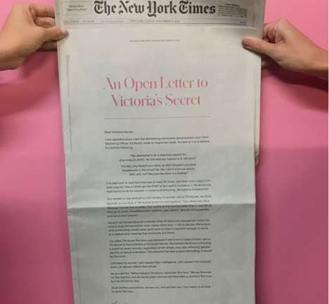 Equality-Focused Open Letter Ads