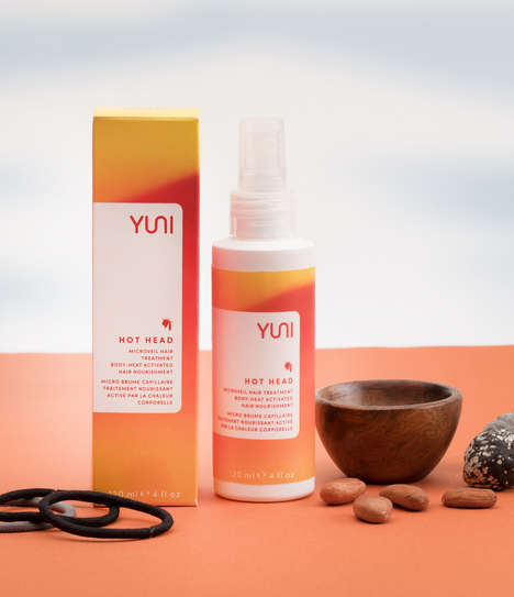 Heat-Activated Hair Conditioners - Yuni Beauty's Leave-In Treatment Mist Pairs Well with Yoga