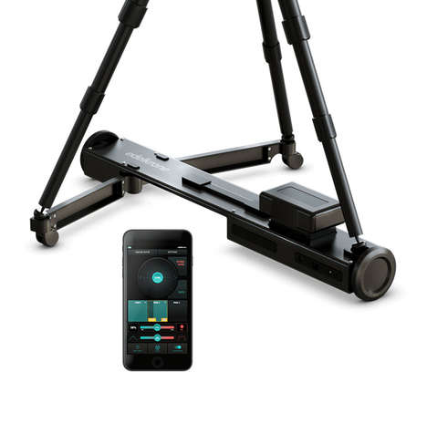 Motorized Videographer Tripod Devices - The edelkrone 'DollyPLUS' Works with Any Tripod