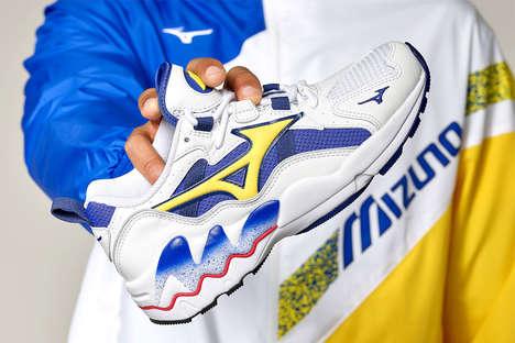 Retro Bright Tonal Sneakers
