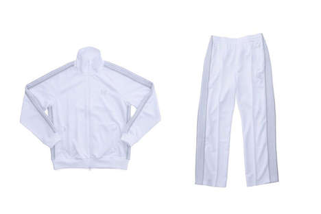 Sleek All-White Tracksuits