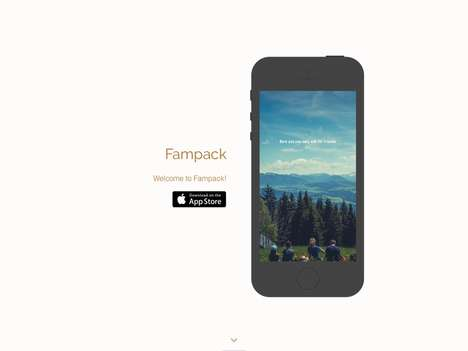 Intentionally Limited Social Apps - 'Fampack' Lets You Interact with Those You Cherish Most