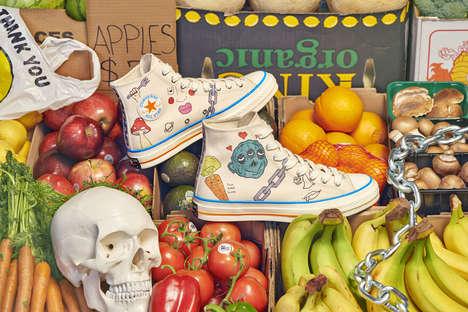 Artist-Designed Canvas Shoes