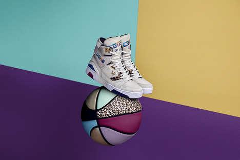 80s-Inspired Vibrant Sportswear