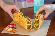 Triple Pull-Apart Tacos - Taco Bell's New 'Triplelupa' is Made of Three Chalupas Joined Together