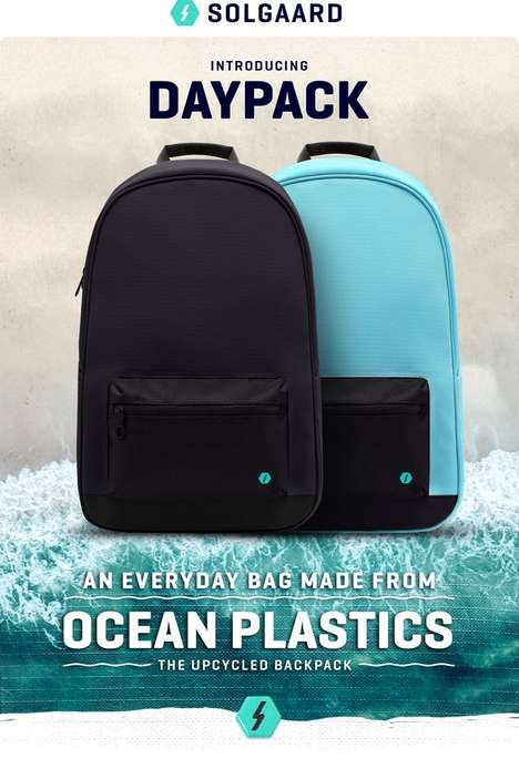 Ocean Plastic Backpacks
