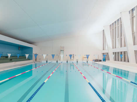 Tranquil Swimming Pool Photography