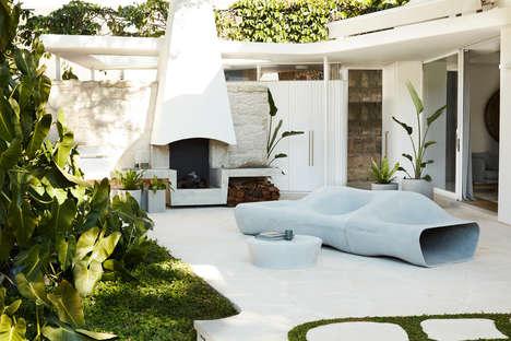 Stunning Sculptural Outdoor Furniture