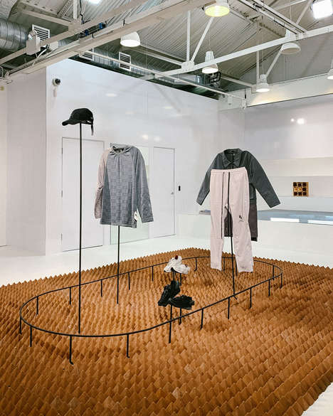 Fashionable Pop-Up Exhibitions