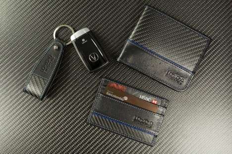 Antitheft Carbon Fiber Wallets