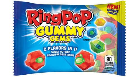 Sour Center Gummy Candies