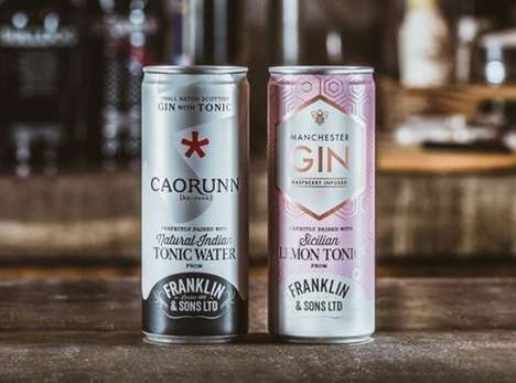 Canned European Gin Cocktails