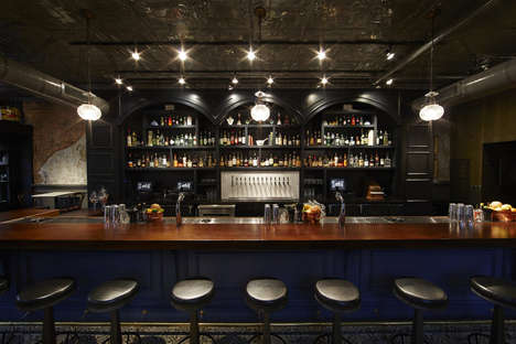 Apothecary-Inspired Cocktail Bars